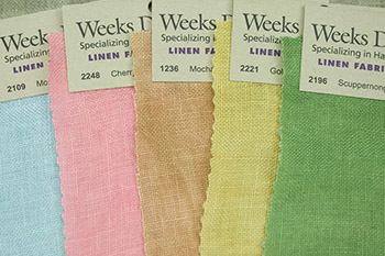 Weeks Dye Works | linen | fabric | hand dyed