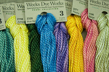 Weeks Dye Works Pearl Cotton Perle Cotton Needlework